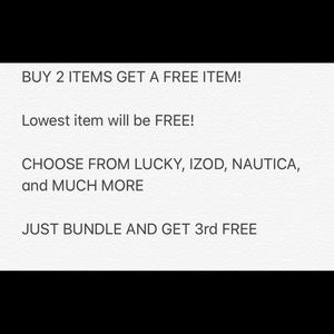 Other - POSHER APPRECIATION SALE *BUY 2 ITEMS GET 3rd FREE